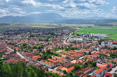 Rasnov town Royalty Free Stock Photography