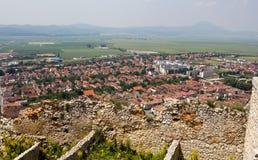Rasnov village Royalty Free Stock Photo