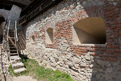 Rasnov wall Stock Photo