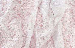 Raso & merletto Fotografia Stock