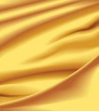 Raso giallo Fotografie Stock