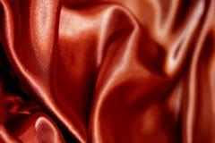 Raso rosso Immagine Stock