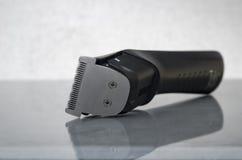 Rasoir électrique noir sans fil Photographie stock