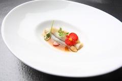 Rasoir de Plats gastronomiques Images stock