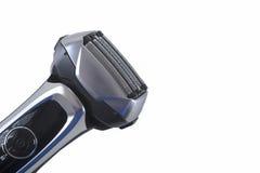 Rasoir moderne d'aluminium d'arc électrique d'isolement Photos stock