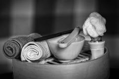 Rasoir rasant le rasoir d'accessoires Photo libre de droits