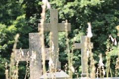Rasos cmentarz obrazy stock