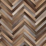 Raspa de arenque de madera inconsútil de la textura del entarimado diversa Imagen de archivo libre de regalías