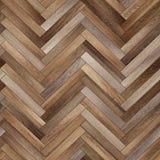Raspa de arenque de madera inconsútil de la textura del entarimado diversa Imágenes de archivo libres de regalías