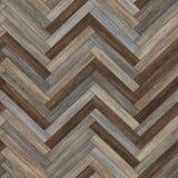 Raspa de arenque de madera inconsútil de la textura del entarimado diversa Fotos de archivo
