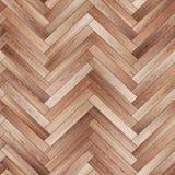 Raspa de arenque de madera inconsútil de la textura del entarimado marrón clara Foto de archivo