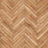 Raspa de arenque de madera inconsútil de la textura del entarimado marrón clara imagen de archivo