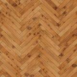Raspa de arenque de madera inconsútil de la textura del entarimado marrón clara Fotos de archivo