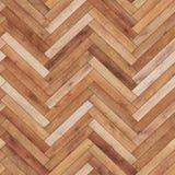 Raspa de arenque de madera inconsútil de la textura del entarimado marrón clara Foto de archivo libre de regalías