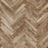 Raspa de arenque de madera inconsútil de la textura del entarimado vieja Imagenes de archivo