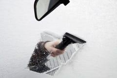 Raspador del hielo Imagen de archivo