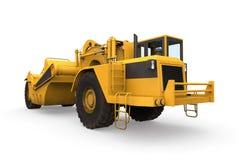 Raspador del tractor de la rueda libre illustration