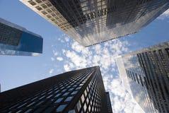 Raspadores del cielo Fotografía de archivo