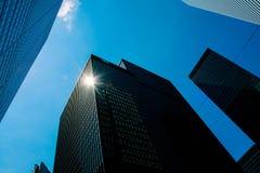Raspadores do céu da cidade de Toronto imagem de stock royalty free
