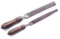 Raspar, sparar för trä- och metallarbete Fotografering för Bildbyråer