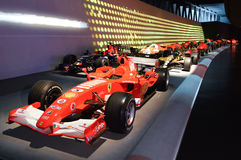 Rasparade in Museo dell'Automobile Nazionale Stock Afbeelding
