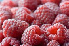 Raspberries. Fresh raspberries in macro shot Royalty Free Stock Photos