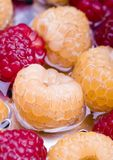 The Raspberries Stock Photography