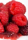 The Raspberries Royalty Free Stock Photo