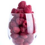 raspberries imagens de stock