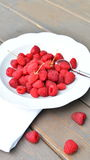 raspberries Foto de Stock