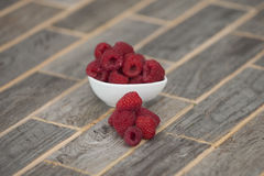 raspberries Fotos de Stock