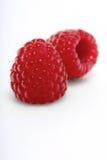 Raspberries backbround - close-up Royalty Free Stock Photos