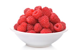 Raspberries in a bowl Royalty Free Stock Photo
