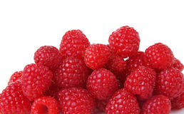Raspberries Close Up Stock Photo
