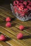 Raspberries  in a Dish Royalty Free Stock Photo