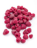 Raspberries isolated on white background Stock Photos