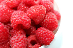 Raspberries, macro Stock Image