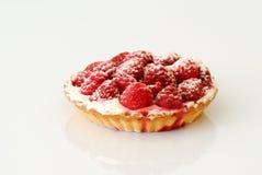 Raspberries pie Stock Photos