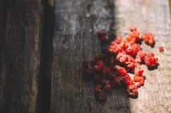 Raspberries. Red sweet fresh raspberries wood background Royalty Free Stock Image