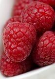 Raspberries. Ripe, red raspberries, close up Royalty Free Stock Images