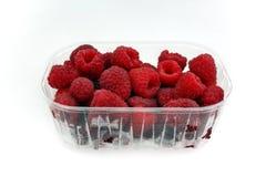 Raspberries. On the white background Stock Photo