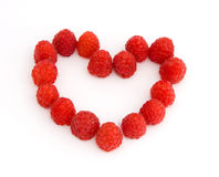 Raspberry. Isolated on a white background Stock Image