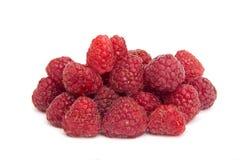 Raspberry. Fresh raspberry close-up isolated on white Royalty Free Stock Photo
