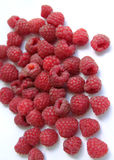 Raspberry. The ripe red raspberry - zoom Royalty Free Stock Images