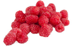 Raspberry. Small circle fresh and sweet raspberry Stock Images