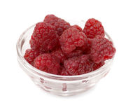 Raspberry. Isolated on white background Royalty Free Stock Photography