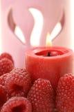 Raspberry aromatherapy Royalty Free Stock Photo