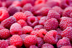Raspberry background Stock Photo