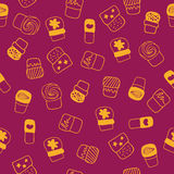 Raspberry background for confectionery packaging Royalty Free Stock Photo