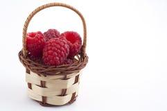 Raspberry basket Royalty Free Stock Photos